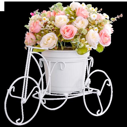 Ozdobny bukiet kwiatów